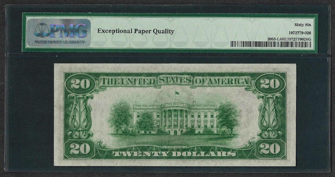 1934A $20 Federal Reserve Note San Francisco Fr.2055-L - 2