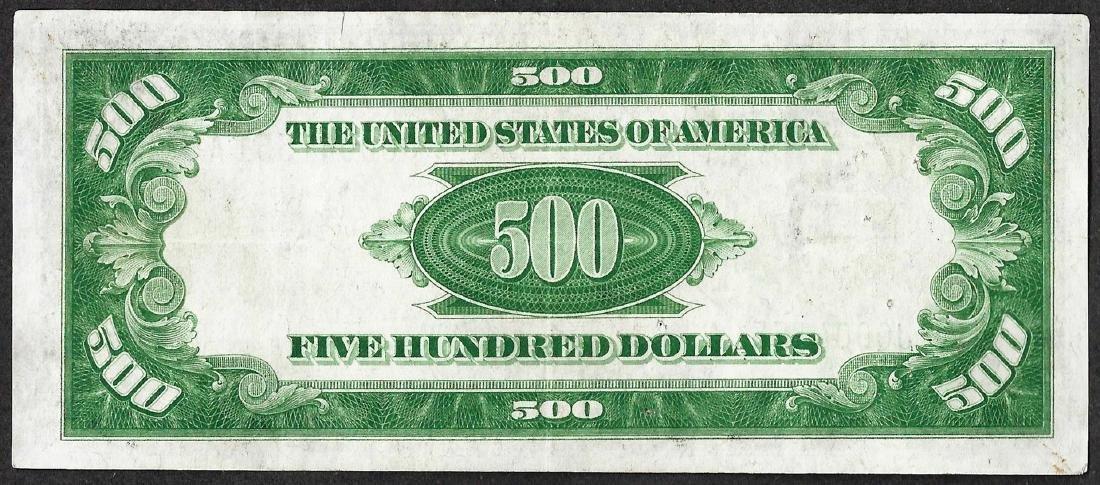 1934A $500 Federal Reserve Note Kansas City - 2