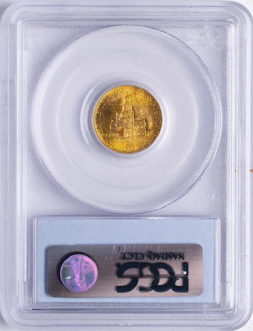 1926 $2 1/2 Sesquicentennial Commemorative Gold Coin - 2