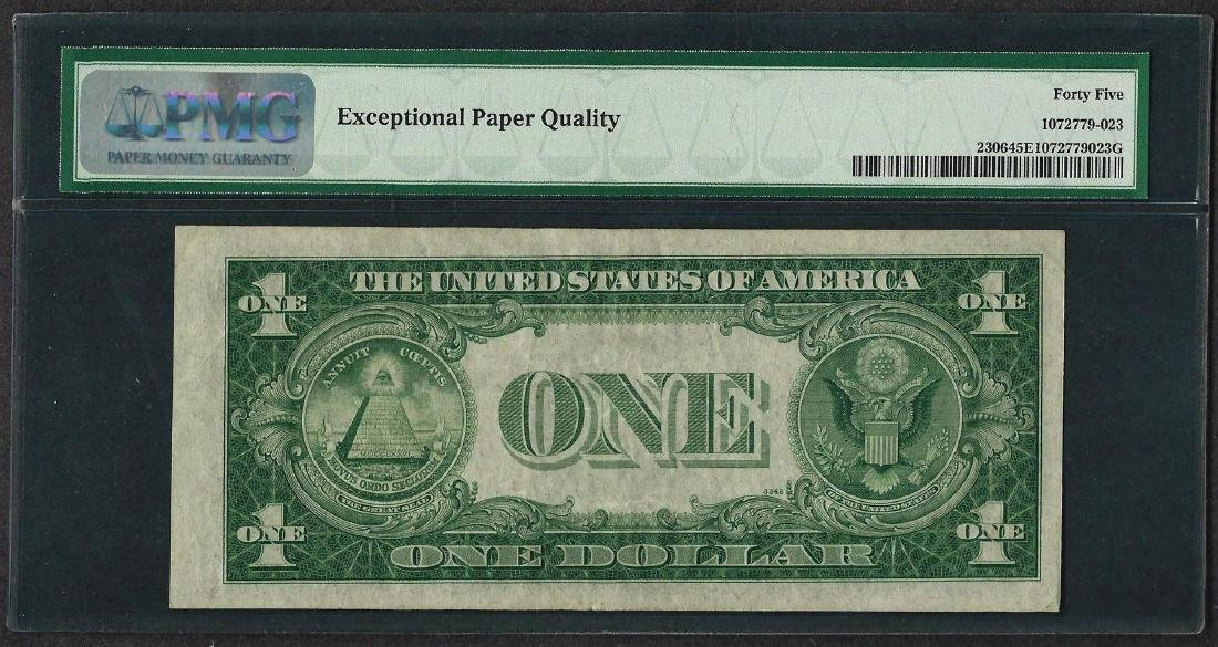 1935A $1 North Africa Silver Certificate WWII Note PMG - 2