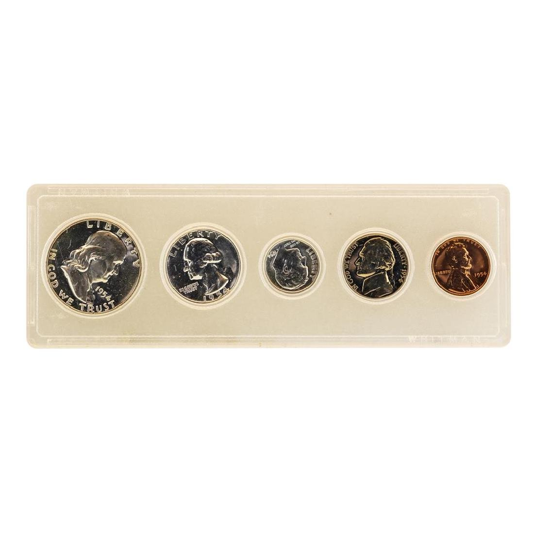 1954 (5) Coin Proof Set