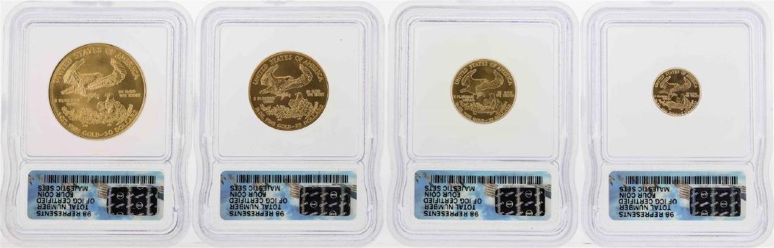 2005 American Gold Eagle Majestic Eagle Collection Set - 2