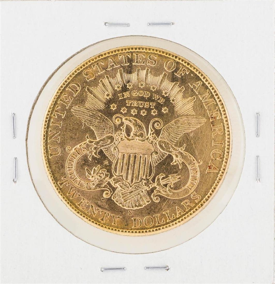 1907-S $20 Liberty Head Double Eagle Gold Coin - 2