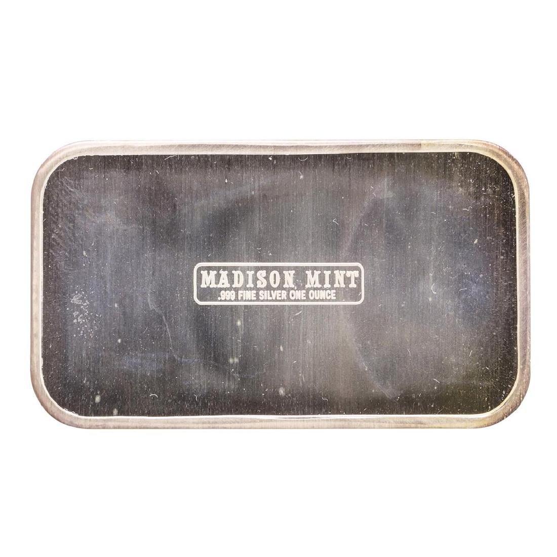 1975 Happy New Year Madison Mint 1 oz .999 Fine Silver - 2