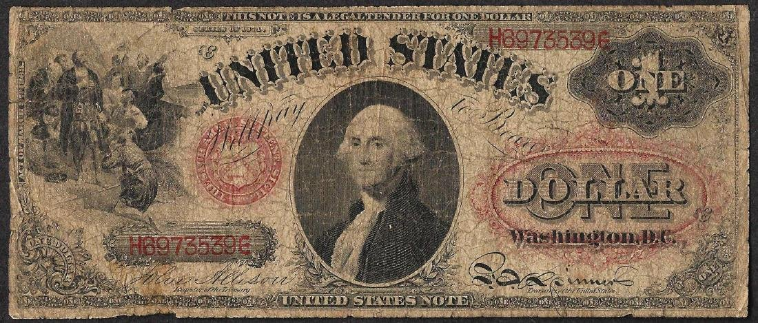1874 $1 Legal Tender Note