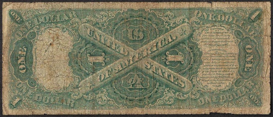 1874 $1 Legal Tender Note - 2
