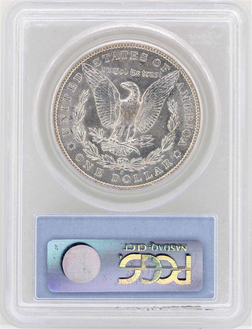 1904-S $1 Morgan Silver Dollar Coin PCGS MS64 - 2