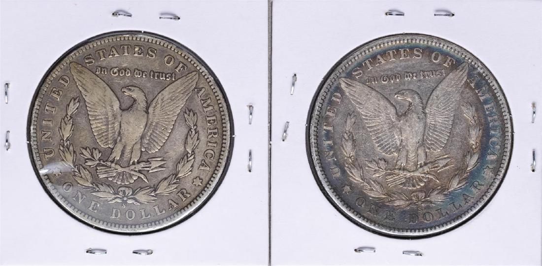 Lot of 1899-S & 1900-S $1 Morgan Silver Dollar Coins - 2