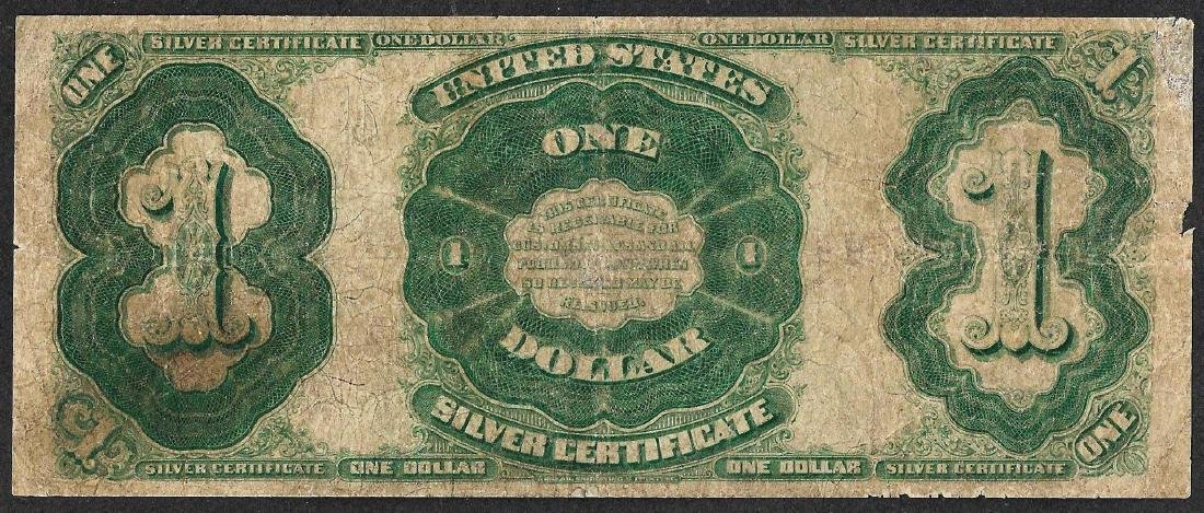 1891 $1 Martha Washington Silver Certificate Note - - 2