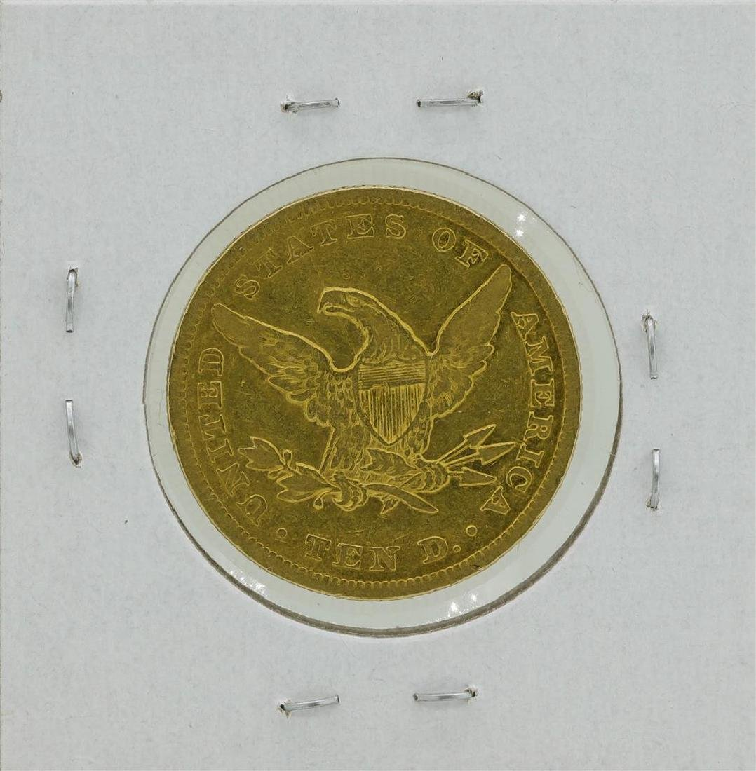 1849 $10 Liberty Head Eagle Gold Coin - 2