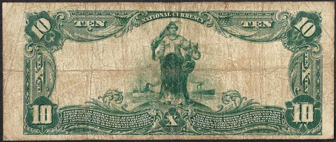 1902 $10 National Bank of Trenton, NJ CH#1327 National - 2