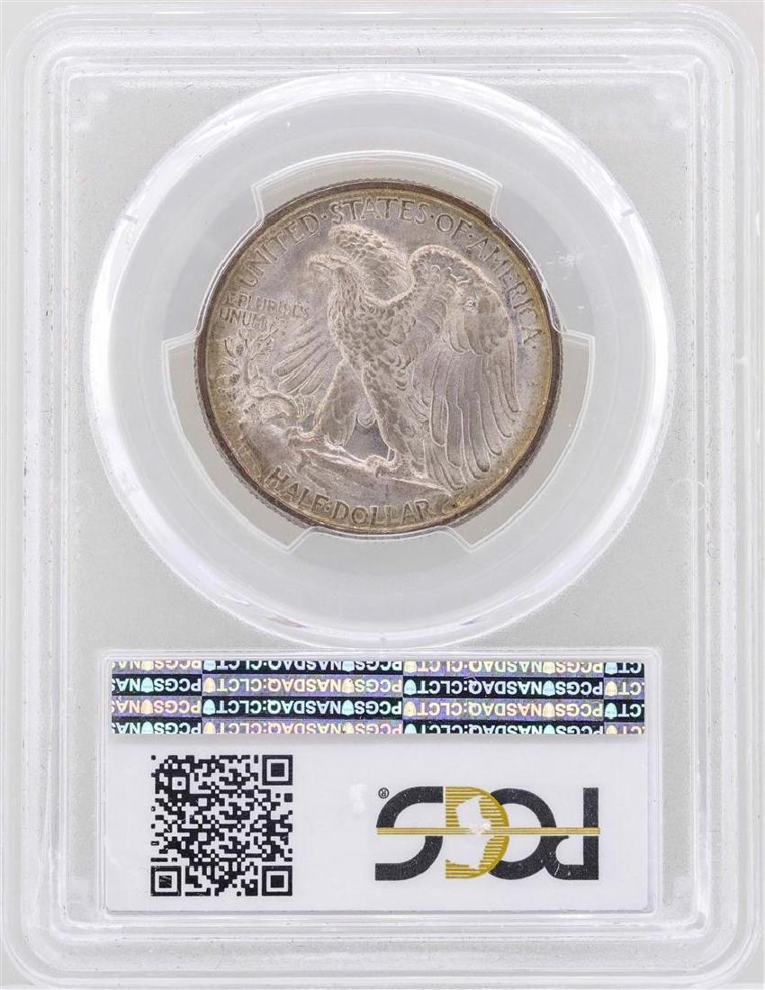 1916 Walking Liberty Half Dollar Coin PCGS MS65 - 2