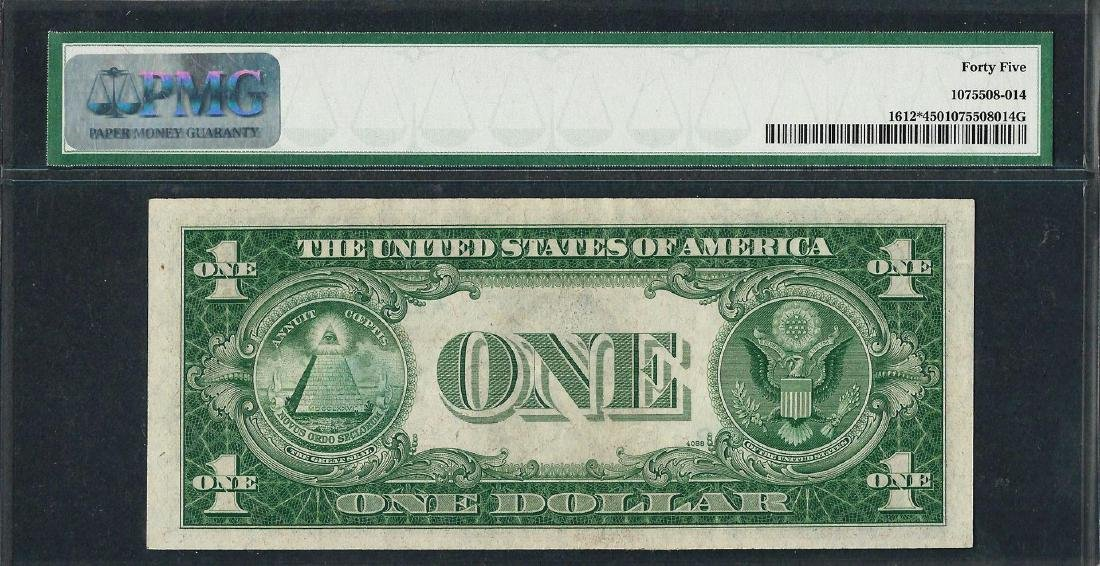 1935C $1 Silver Certificate STAR Note Fr.1612* PMG - 2