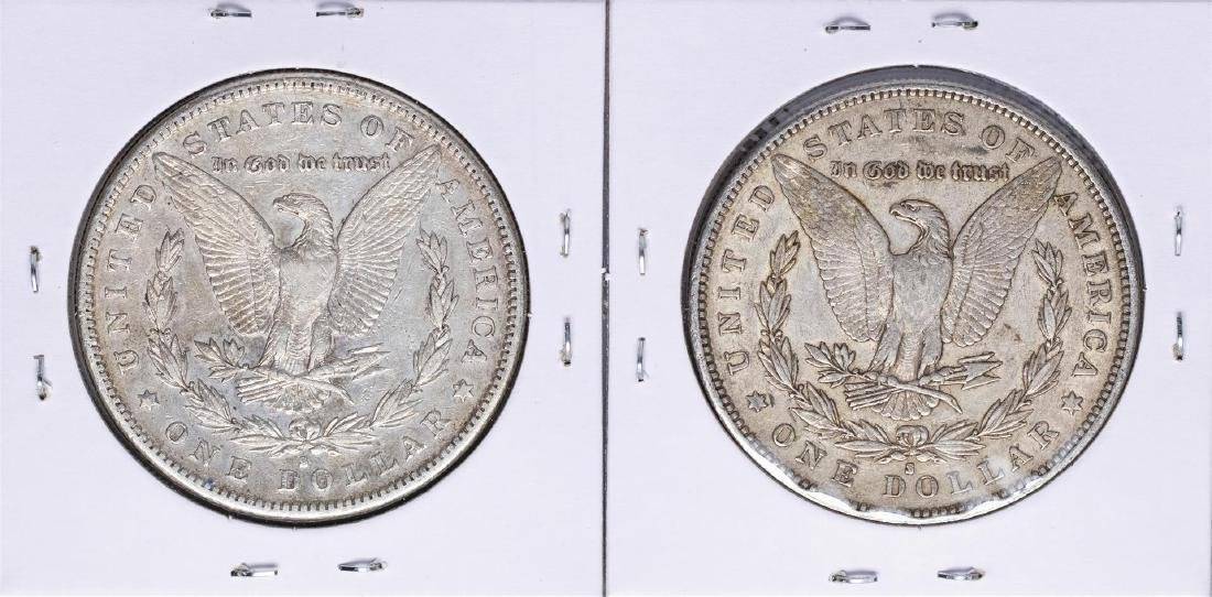 Lot of (2) 1883-S $1 Morgan Silver Dollar Coins - 2