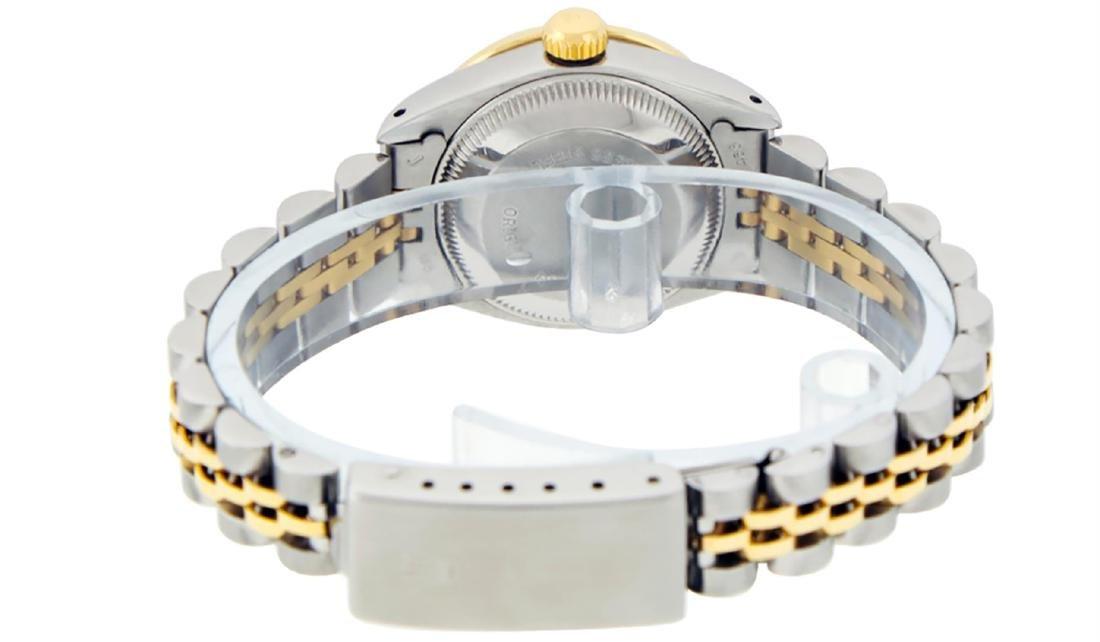 Rolex Ladies Two Tone 14K MOP Sapphire String Diamond - 7