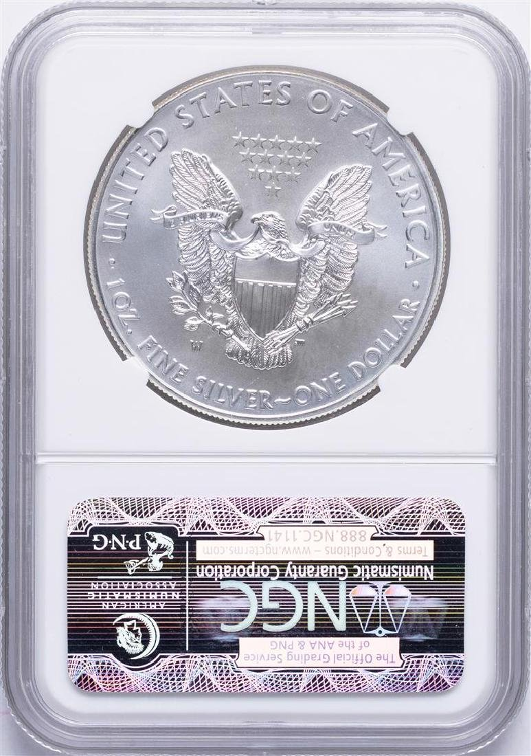2011-W $1 American Silver Eagle Coin NGC MS69 - 2