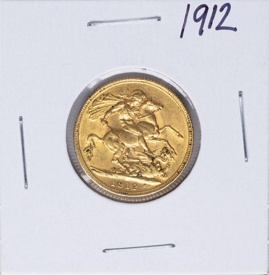 1912 Great Britain Sovereign Gold Coin