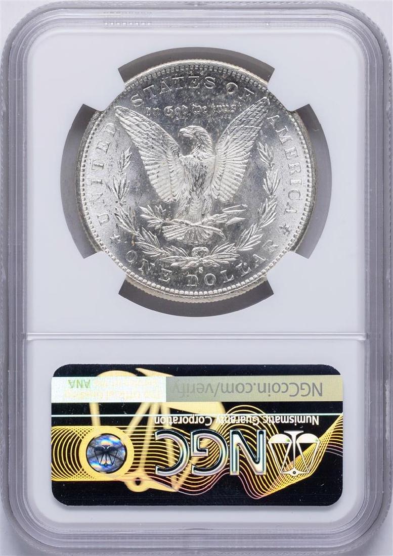 1886-S $1 Morgan Silver Dollar Coin NGC MS63 - 2