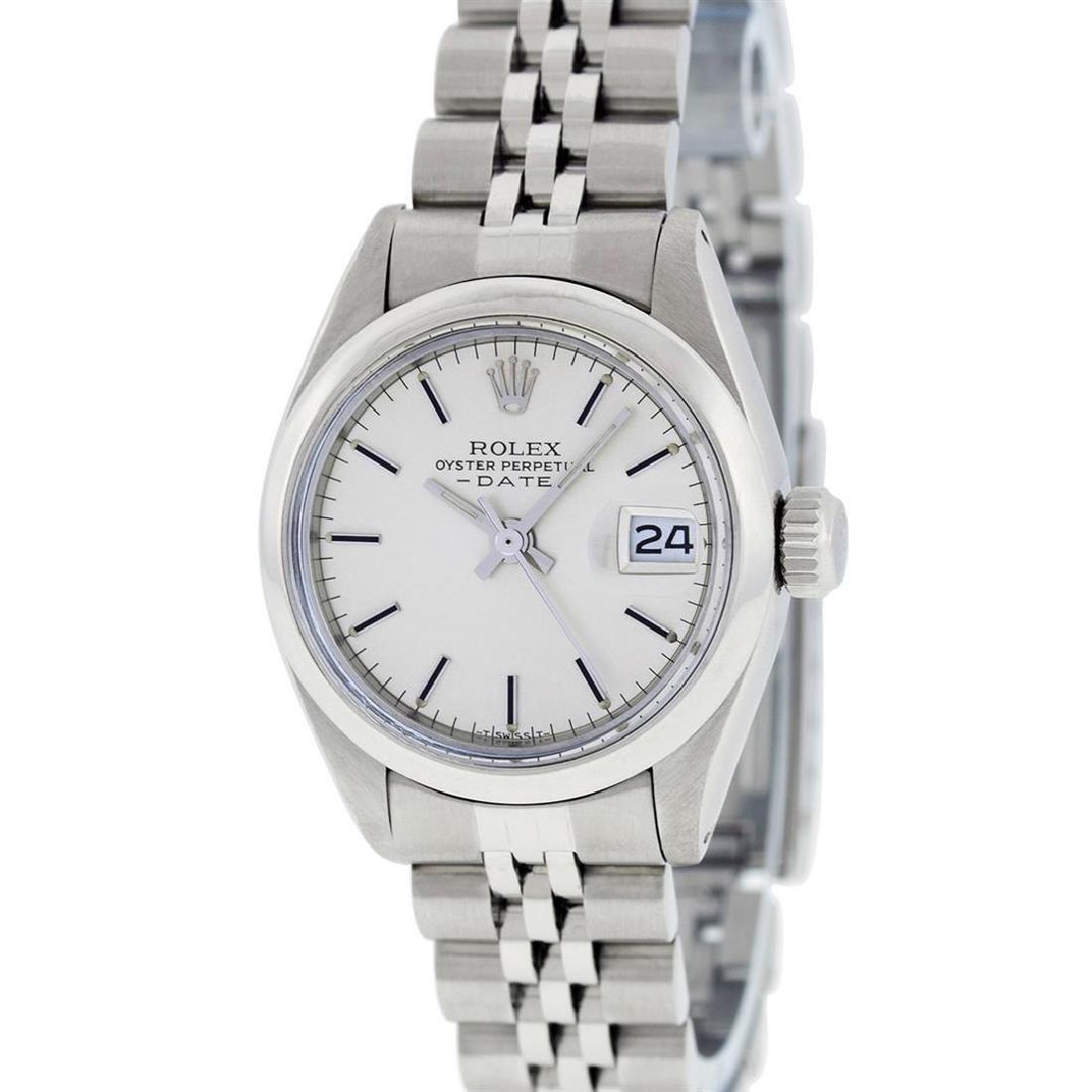 Rolex Ladies Stainless Steel Silver Index 26MM Datejust - 2