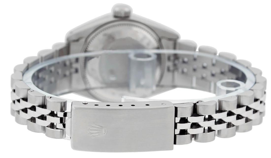 Rolex Ladies Stainless Steel Silver Index 26MM Datejust - 7