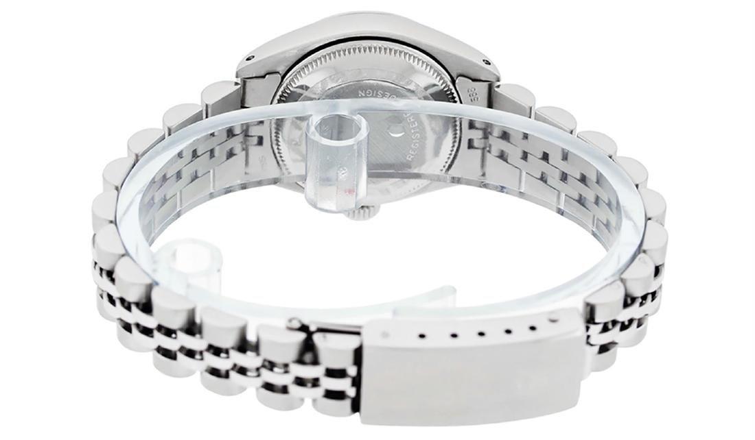 Rolex Ladies Stainless Steel Silver Index 26MM Datejust - 8