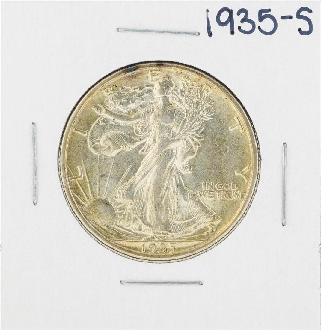 1935-S Walking Liberty Half Dollar Coin