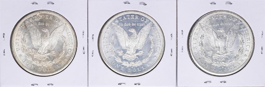 Lot of (3) 1881-S $1 Morgan Silver Dollar Coins - 2