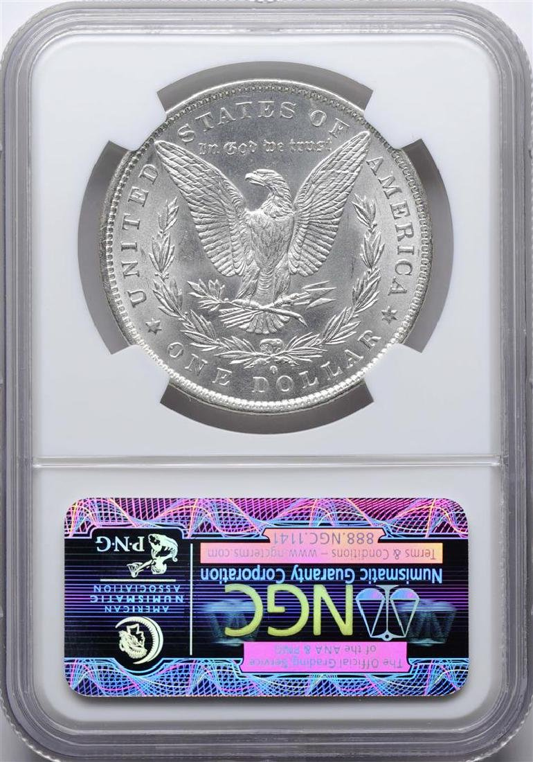 1884-O $1 Morgan Silver Dollar Coin NGC MS63 - 2