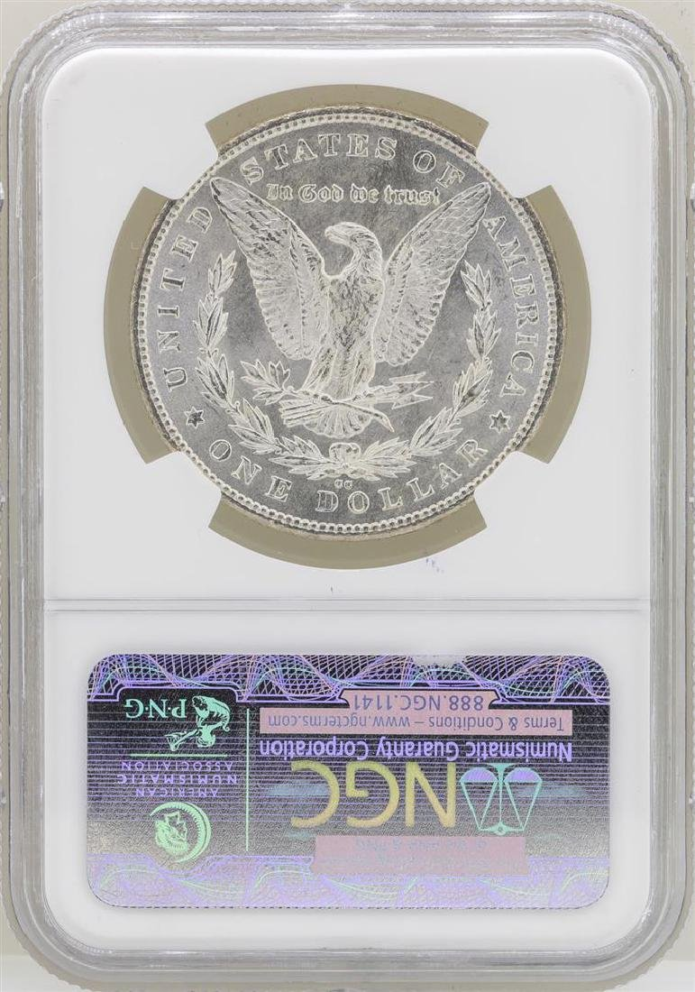 1880-CC $1 Morgan Silver Dollar Coin NGC MS66 - 2