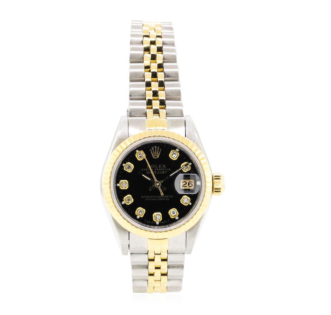 14KT Yellow Gold and Stainless Steel Ladies Rolex