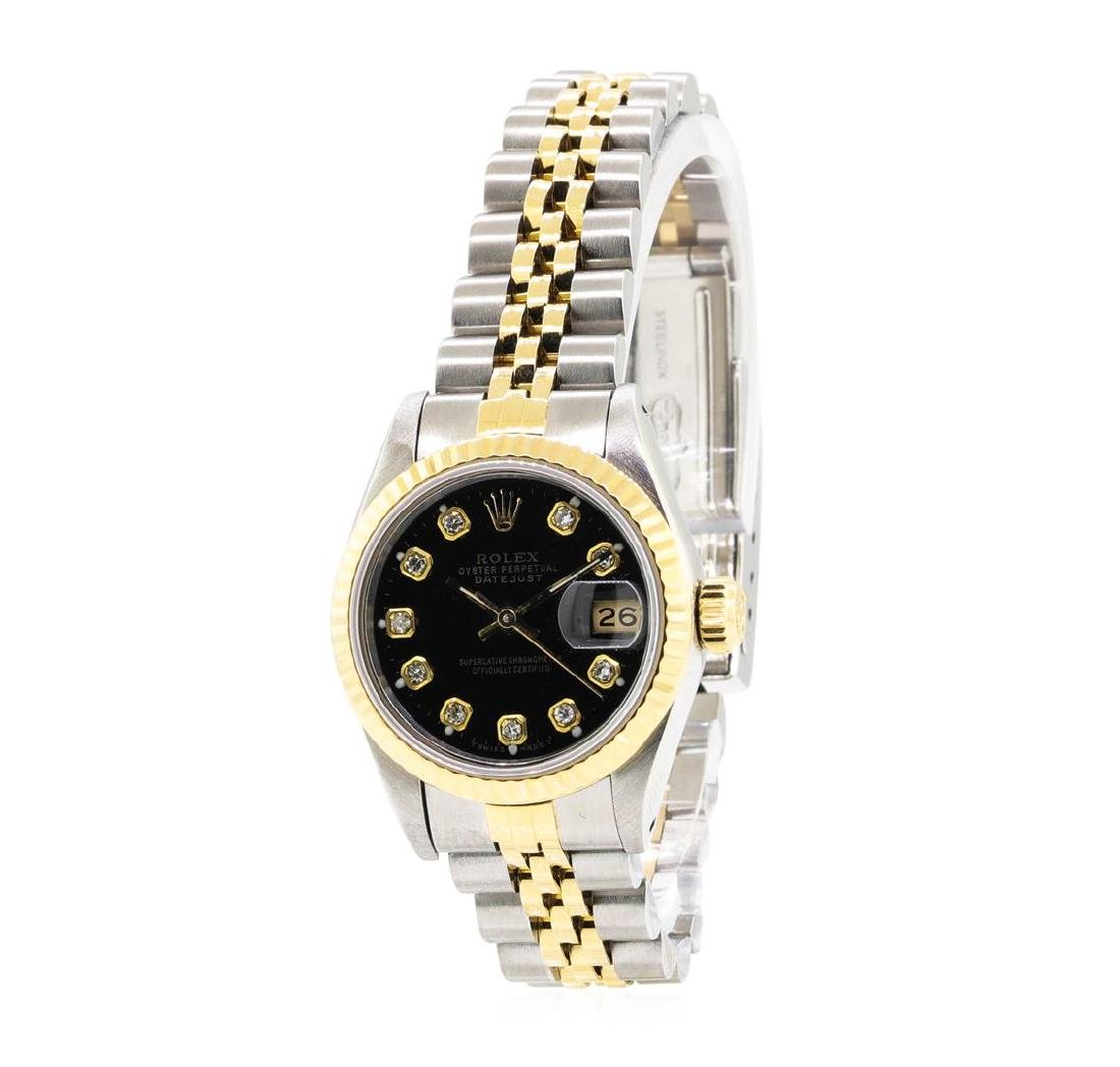 14KT Yellow Gold and Stainless Steel Ladies Rolex - 2