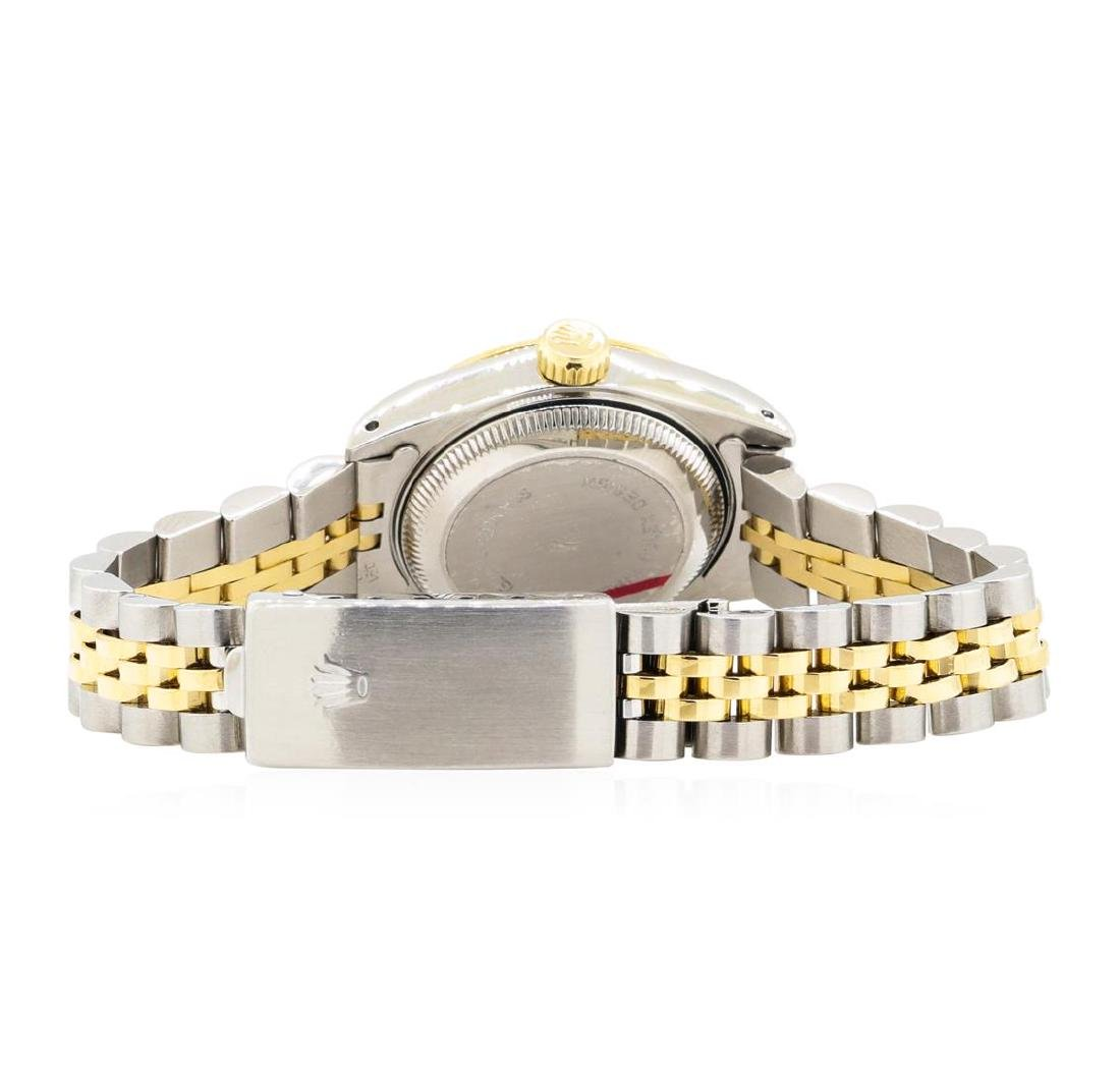 14KT Yellow Gold and Stainless Steel Ladies Rolex - 3