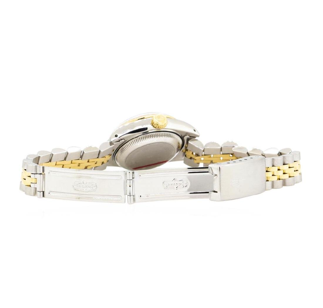 14KT Yellow Gold and Stainless Steel Ladies Rolex - 4