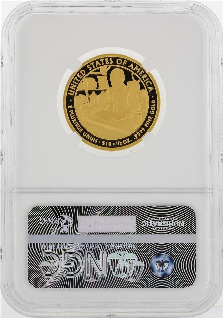 2010 W $10 First Spouse Series Buchanans Liberty Gold - 2