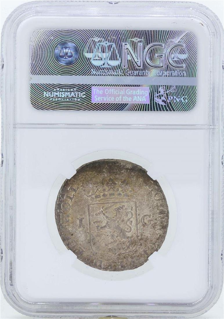 1793 Netherland Gulden Holland Coin NGC MS64 - 2