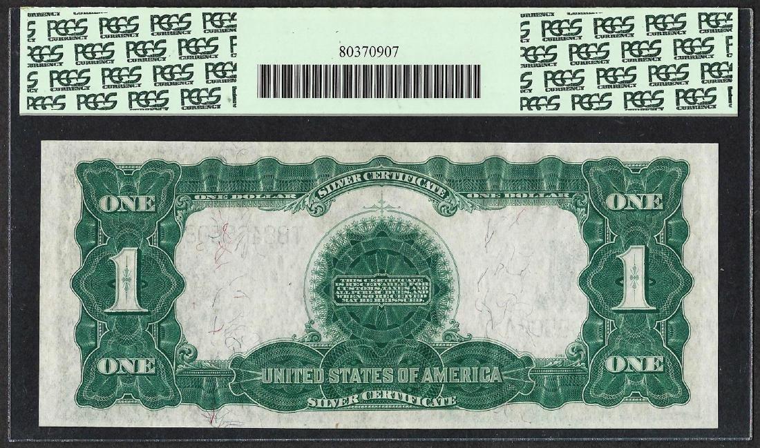 1899 $1 Black Eagle Silver Certificate Note Fr.236 PCGS - 2