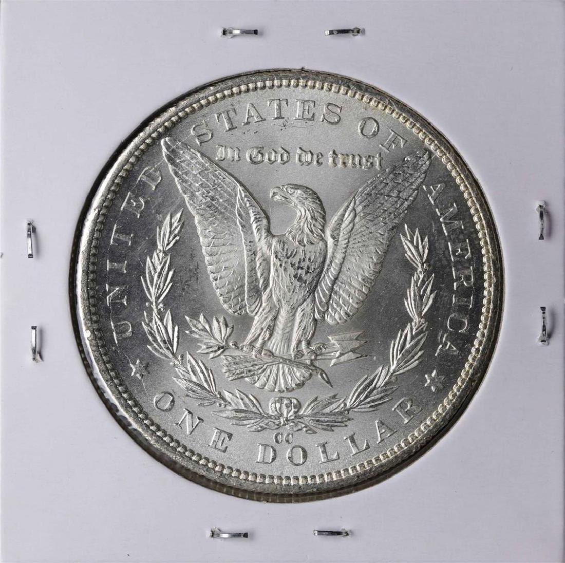 1884-CC $1 Morgan Silver Dollar Coin - 2