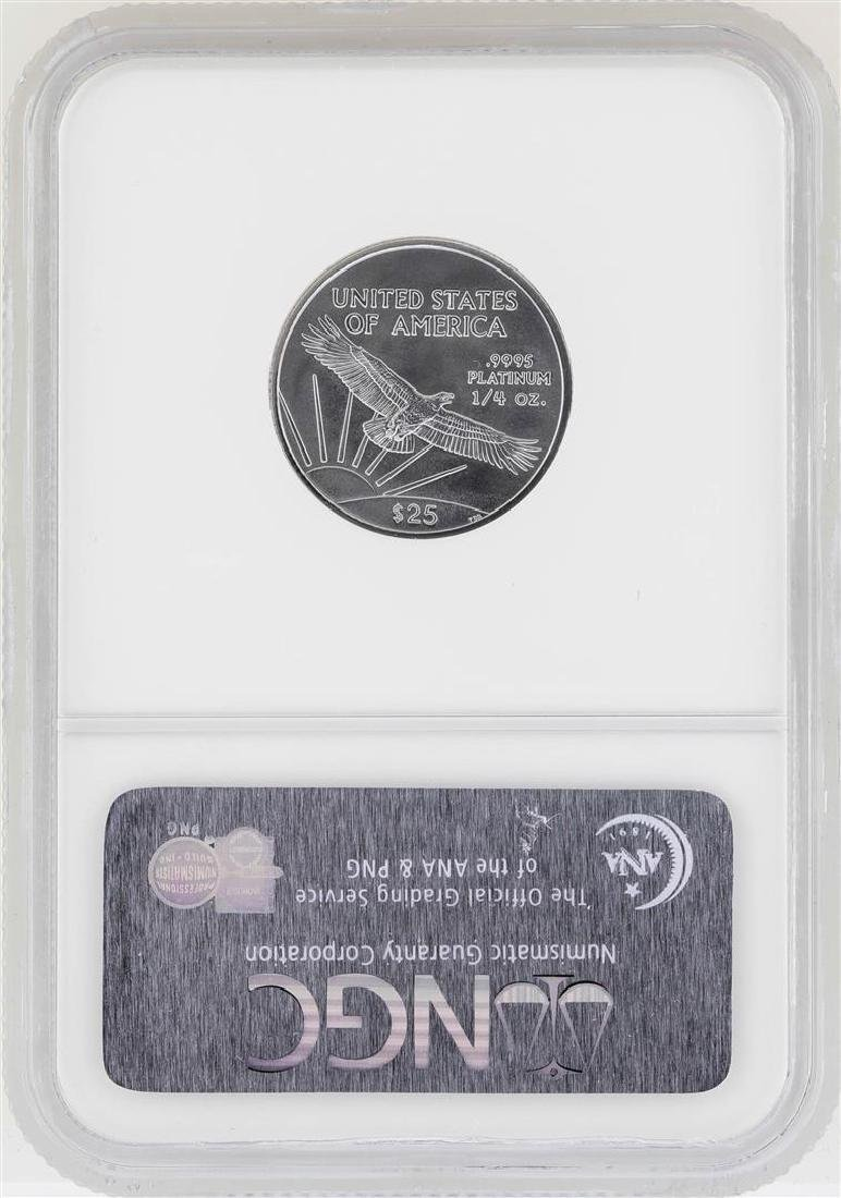 2006 $25 American Platinum Eagle Coin NGC MS70 First - 2