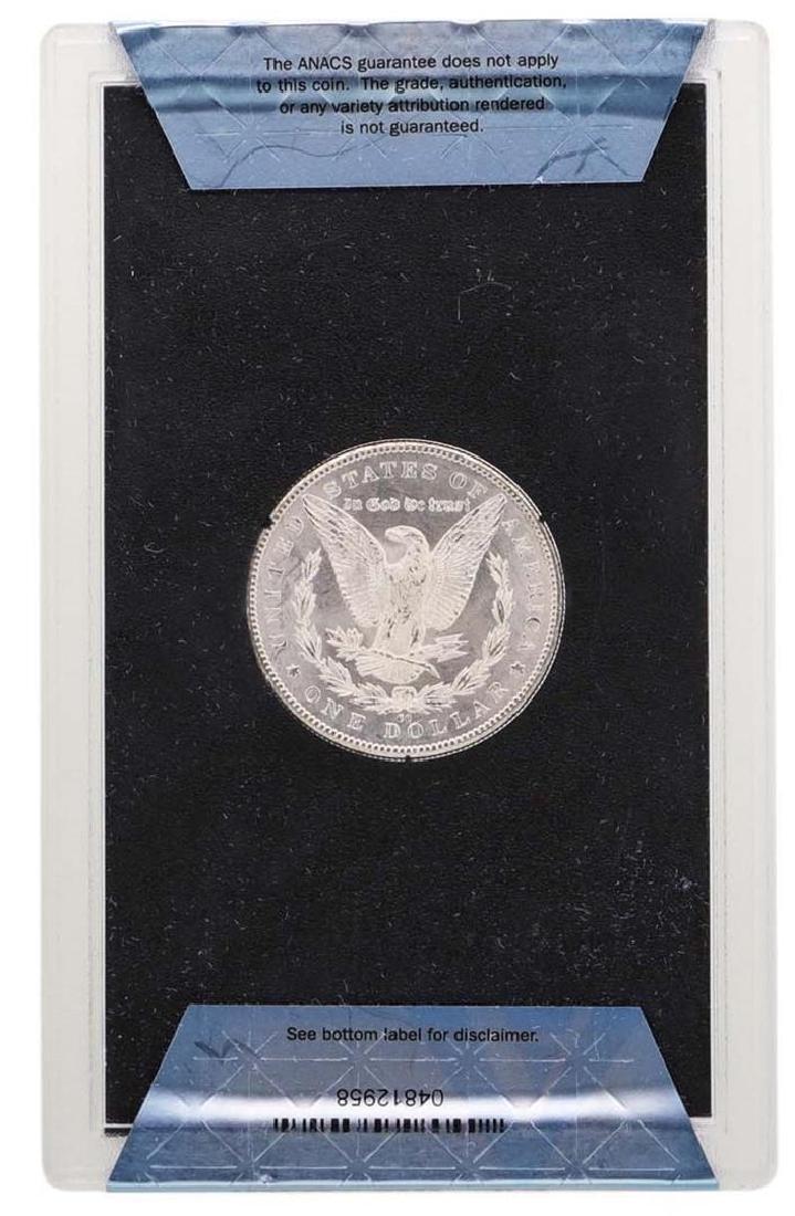 1884-CC $1 Morgan Silver Dollar Coin w/ Box GSA & COA - 2