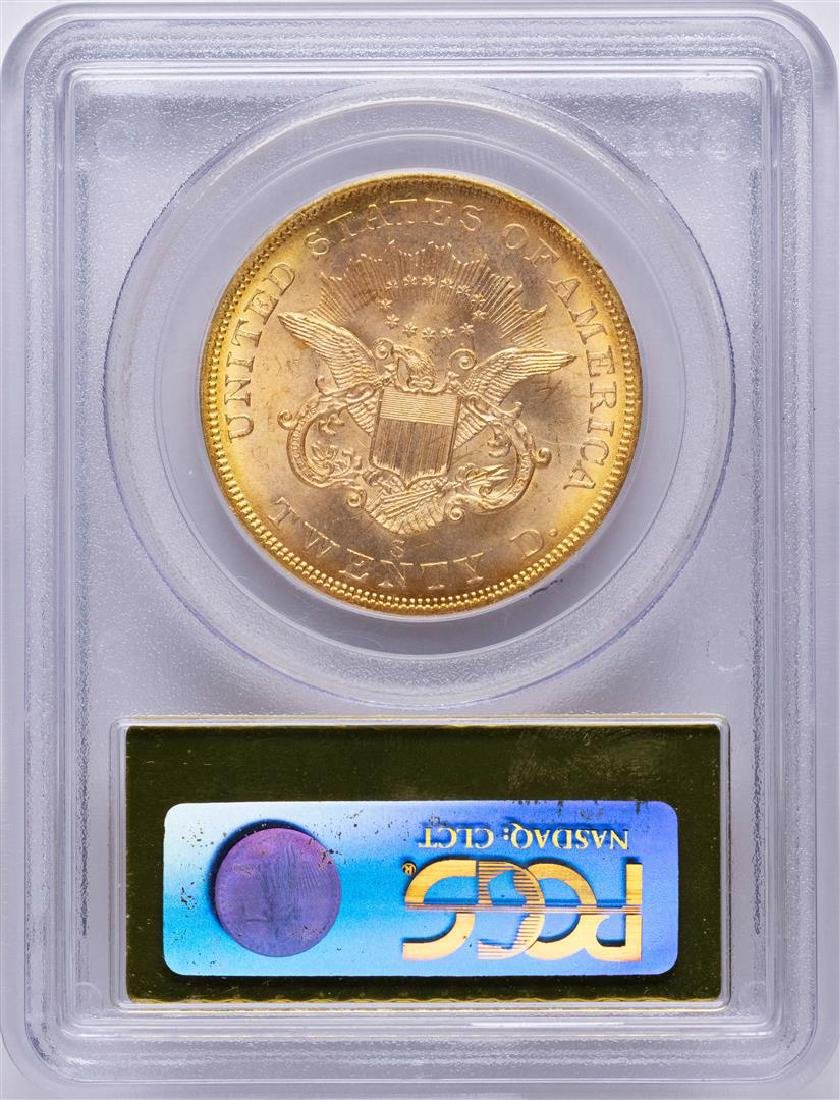 S.S. Central America 1857-S $20 Liberty Head Double - 2