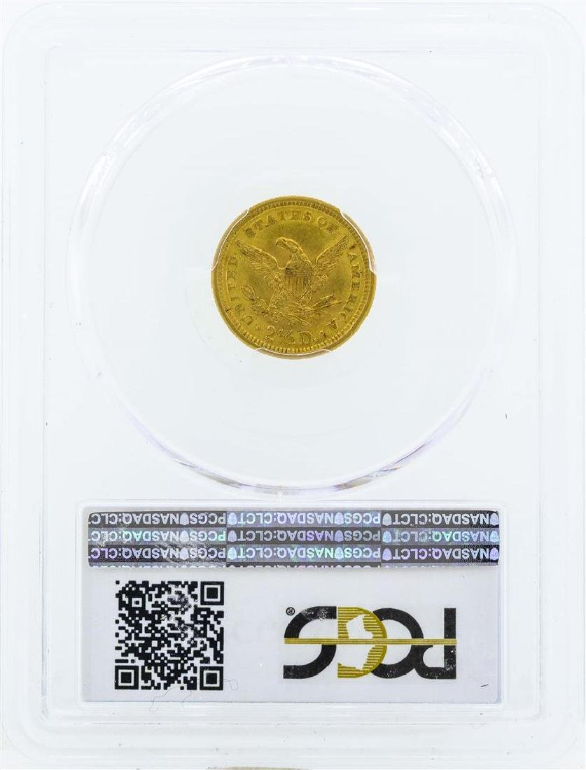 1902 $2 1/2 Liberty Head Quarter Eagle Gold Coin PCGS - 2