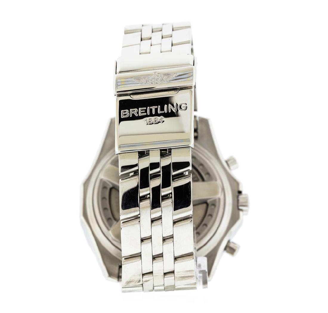 Breitling Bentley Stainless Steel 2.20 ctw Diamond - 3