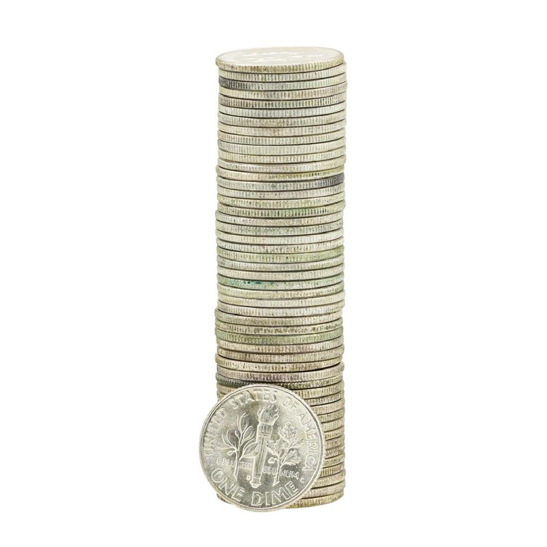 Roll of (50) 1946 Brilliant Uncirculated Roosevelt - 2