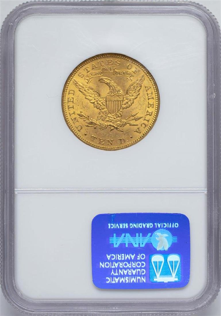 1907 $10 Liberty Head Eagle Gold Coin NGC MS62 - 2