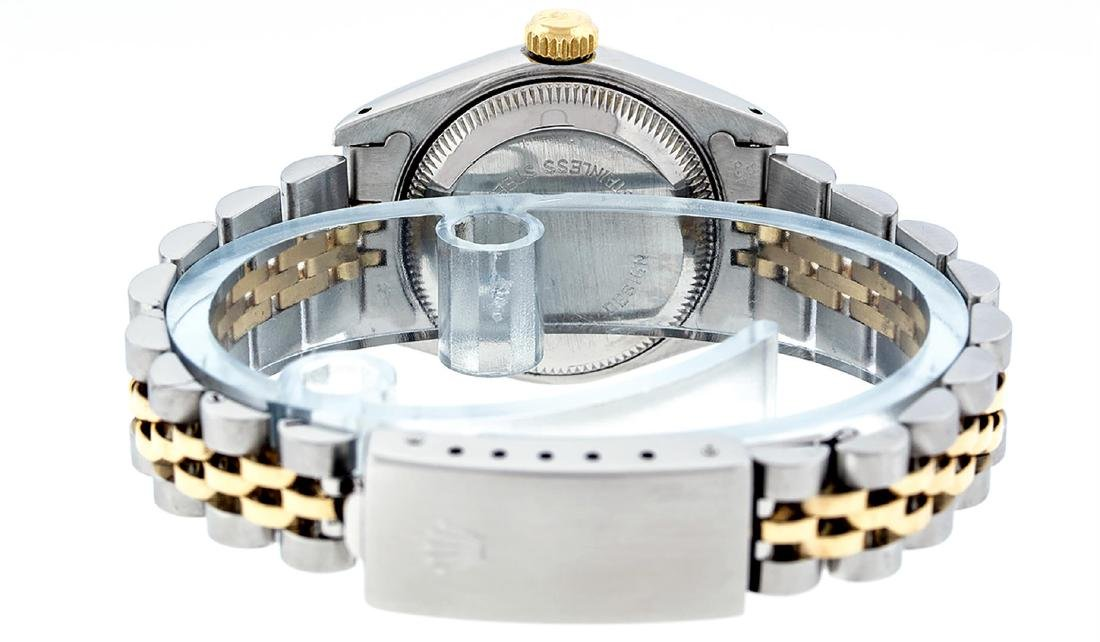 Rolex Ladies Two Tone 14K Champagne Diamond 26MM - 6