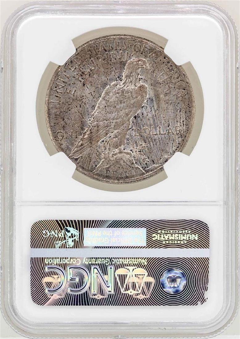 1922-S $1 Peace Silver Dollar Coin NGC MS65 - 2