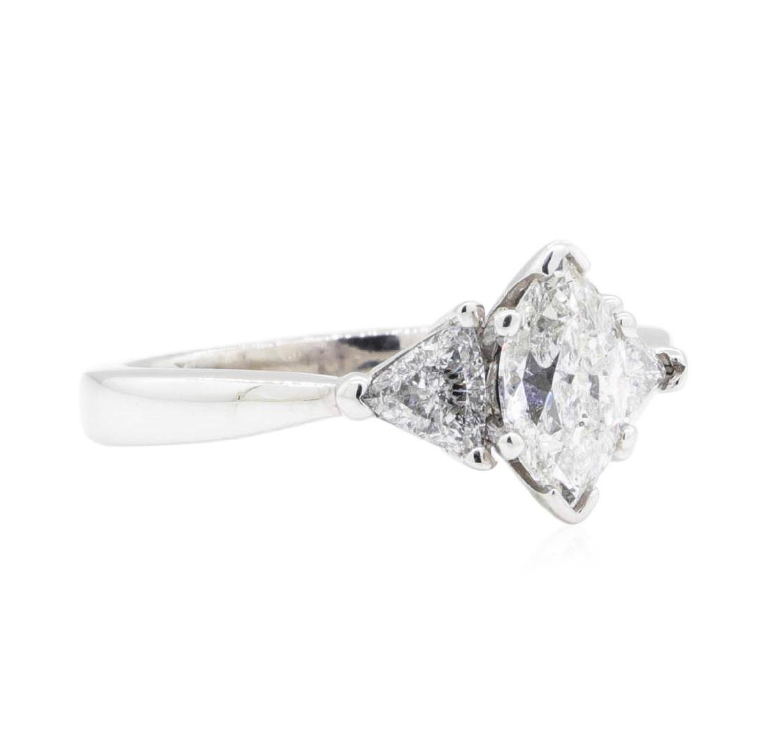 14KT White Gold 1.20 ctw Diamond Ring