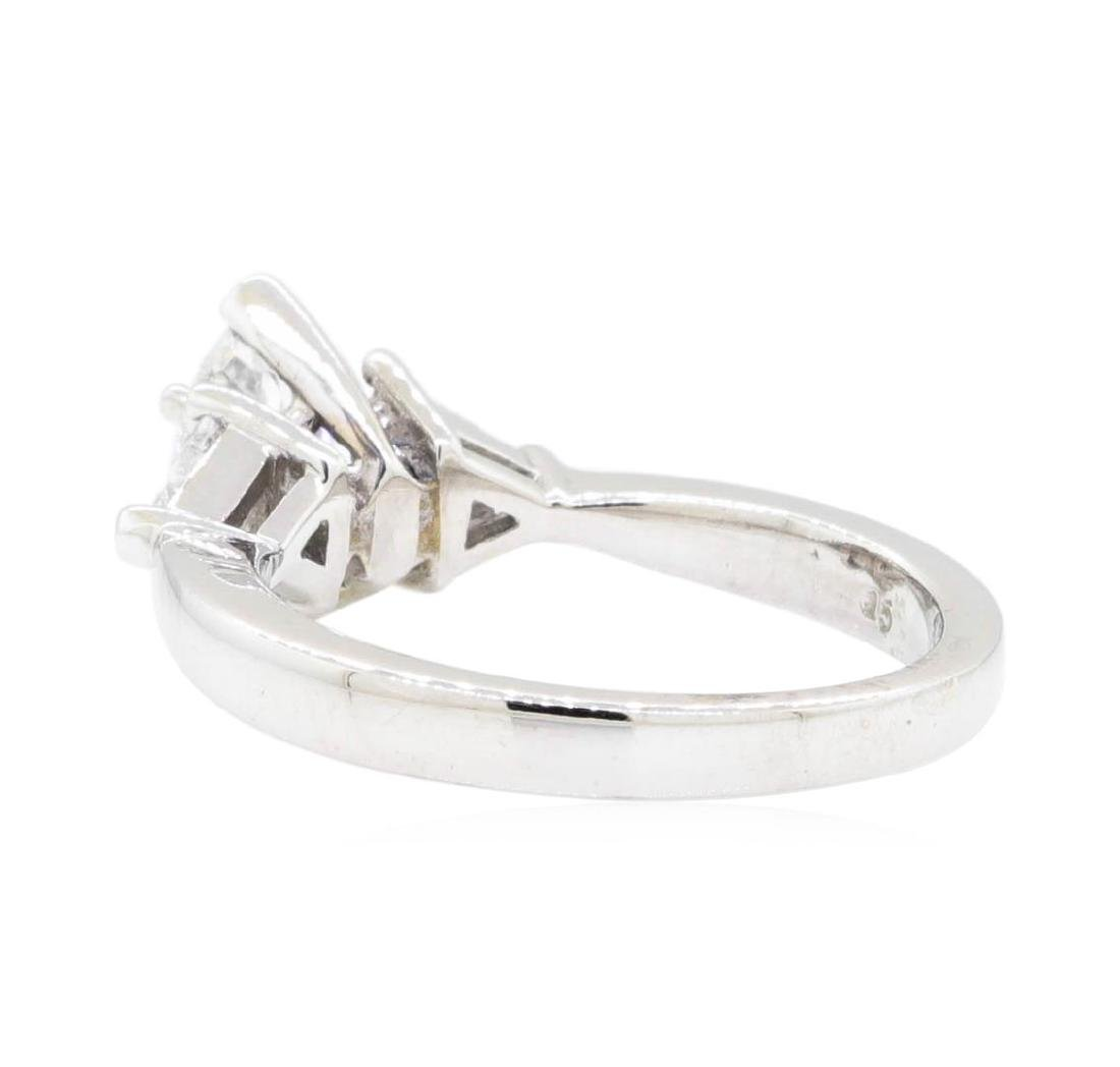 14KT White Gold 1.20 ctw Diamond Ring - 3