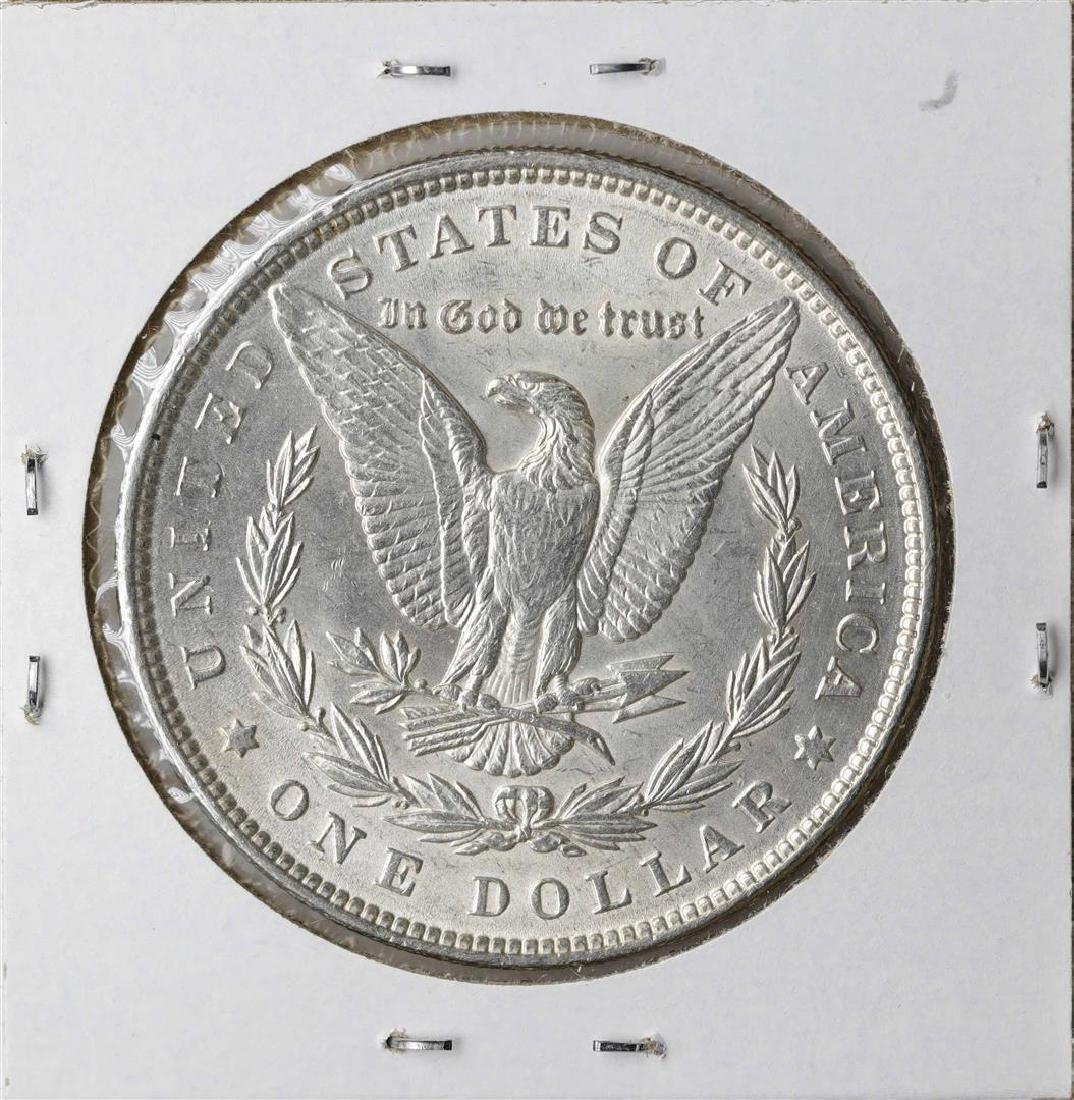 1889 $1 Morgan Silver Dollar Coin - 2