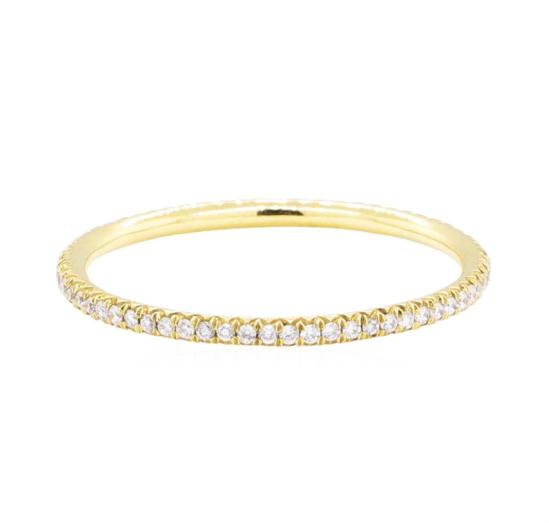 18KT Yellow Gold 0.25 ctw Diamond Eternity Ring